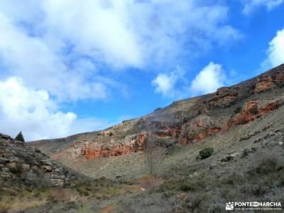 Cañón Caracena; Encina  Valderromán; excursion por madrid club de singles madrid equipamiento par